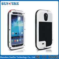 Love mei Case for Galaxy S2 Waterproof Love Mei Protective Shockproof Phone Case for Samsung