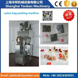 China electric motor lipton triangle tea bag packing machine, nylon tea bag packing machine