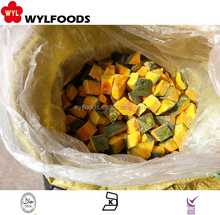 Best price Grade A IQF Frozen diced Pumpkin