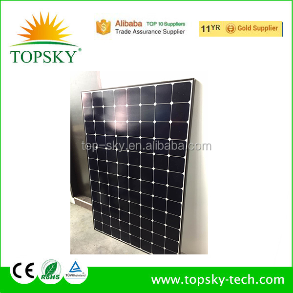 Sunpower 238W highest efficiency Monocrystalline solar module,solar panels,made by 72 cells