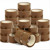 Tan Adhesive Clear High Track Crystal BOPP Office Cello packaging Tape