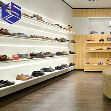 2017 Name Brand Shoes Store Display Furniture For Shoes Shop Display Fixture