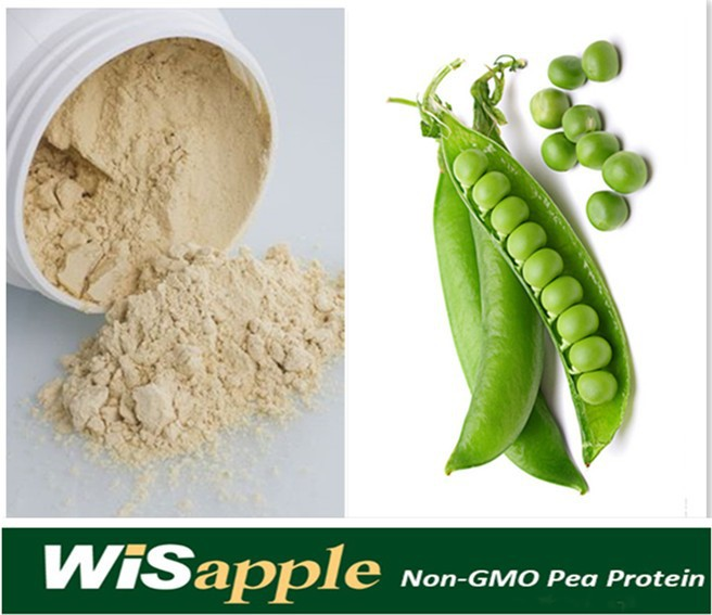 Manufacture supply natural 80% pea protein concentrate