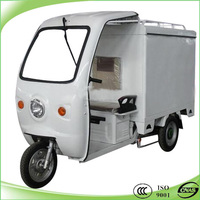 Popular hybrid three wheeler with closed box