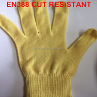 EN388 cut resistant working gloves