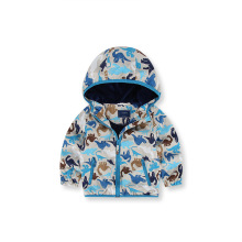 New Products 2017 Kids Dinosaur All Printed Light Weight Racing Cheap Back Pocket Jackets