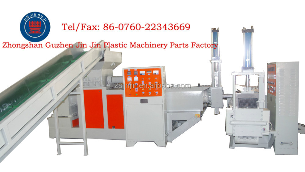 New high quality and best selling plastic recycling pe film pricing granulator machine