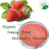 High Quality Food Grade organic strawberry powder/freeze dried strawberry powder/strawberry jelly powder