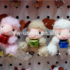 Sell well Cute Dressed Sheep Keychains Wholesale / Goat Toys Stuffed 11 cm