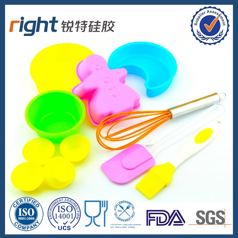 High quality Silicone whisks and spatula kitchen tools and accessories