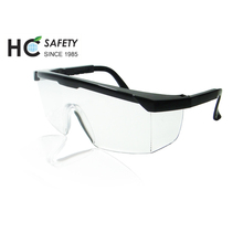 P650 Taiwan Ho Cheng CE EN166 ANSI Z87 UV protection side shield dust proof safety glasses manufacturer