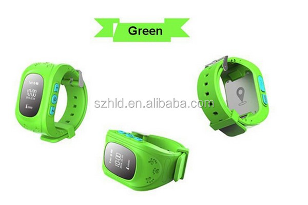 2016 hot sale emergency children Kids waterproof GPS tracker security smart wrist watch