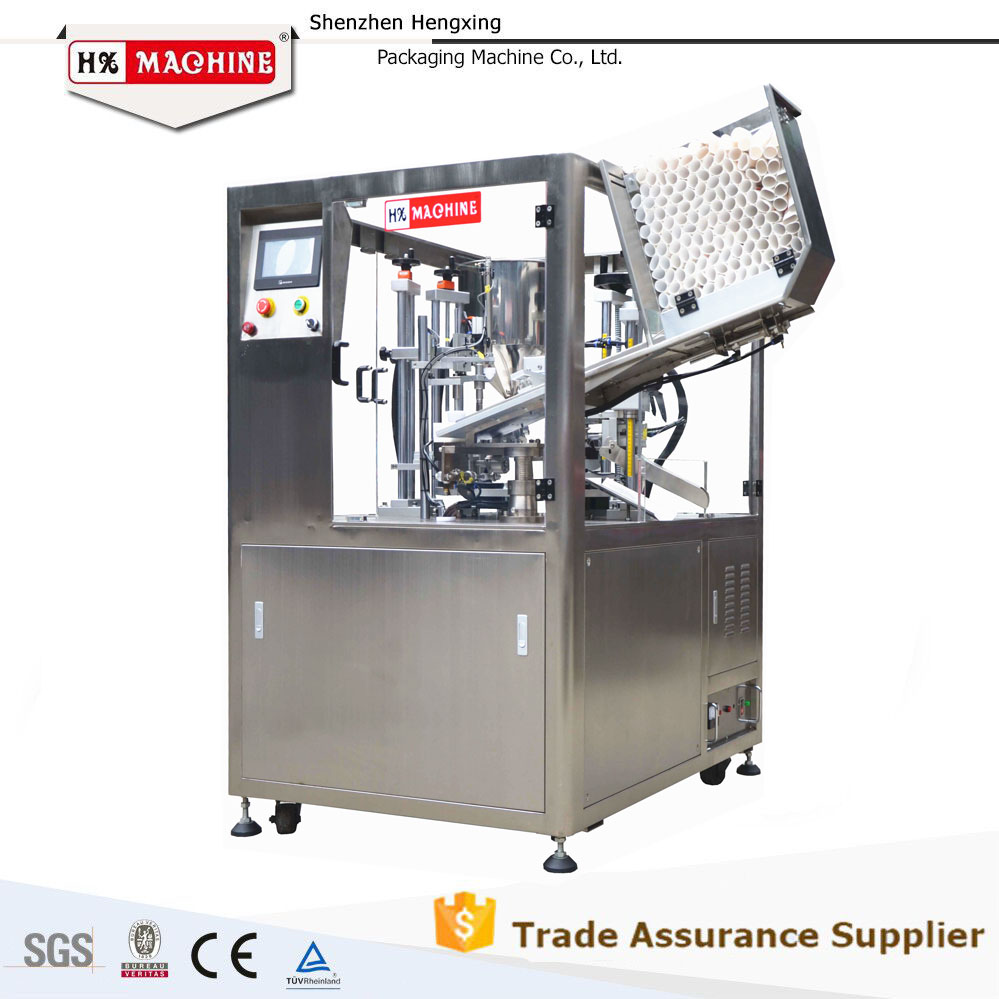 Hengxing Machinery Hot Sale Rotary Fillers Soft Tube Filling Sealing Machine Plastic Sealer Machine