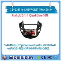 alibaba china cheap dvd gps for CHEVROLET TRAX 2014 2015 2016 2017 in car video player touch screen quad core free maps swc wifi
