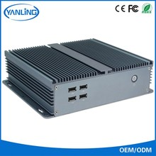 Latest computer types 1037U fanless VGA mini pc linux