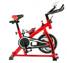 Indoor Cycling Spin Bike Home Use Exercise Aerobic stepper Training Bike With Solid Steel And Duty Flywheel