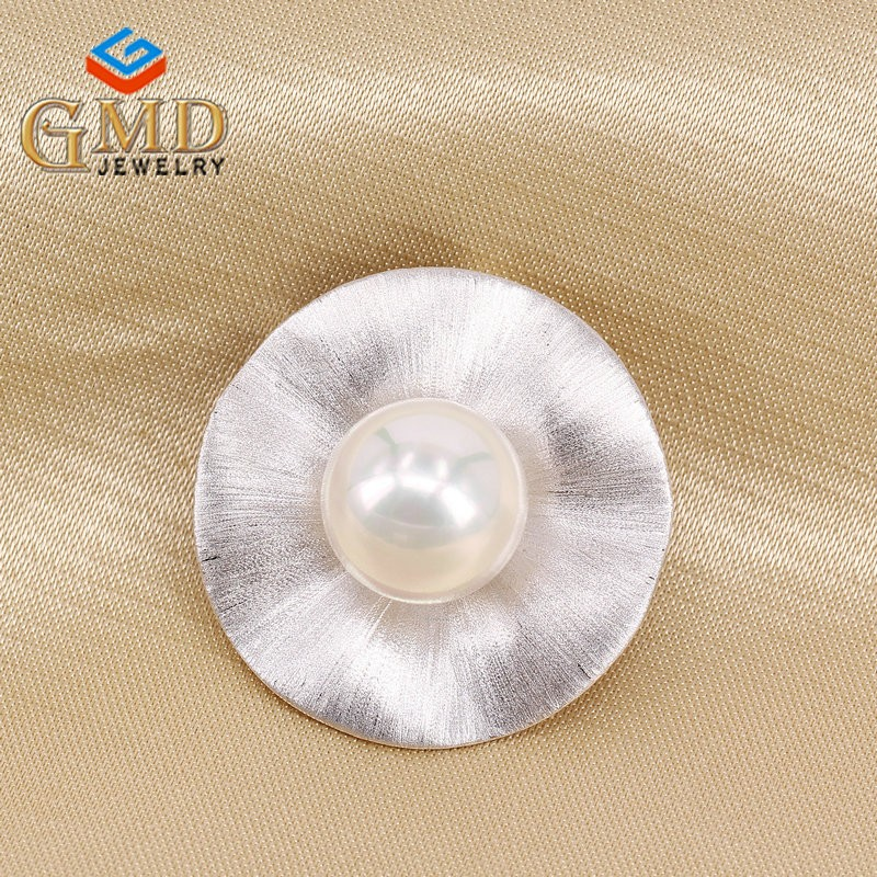 Oem jewelry manufacturer promotional rhodium plated 925 silver metal blank pendants