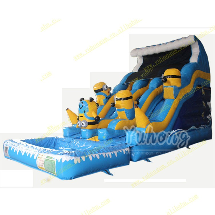 inflatable water slide with good price/giant inflatable water slide high quality for adult