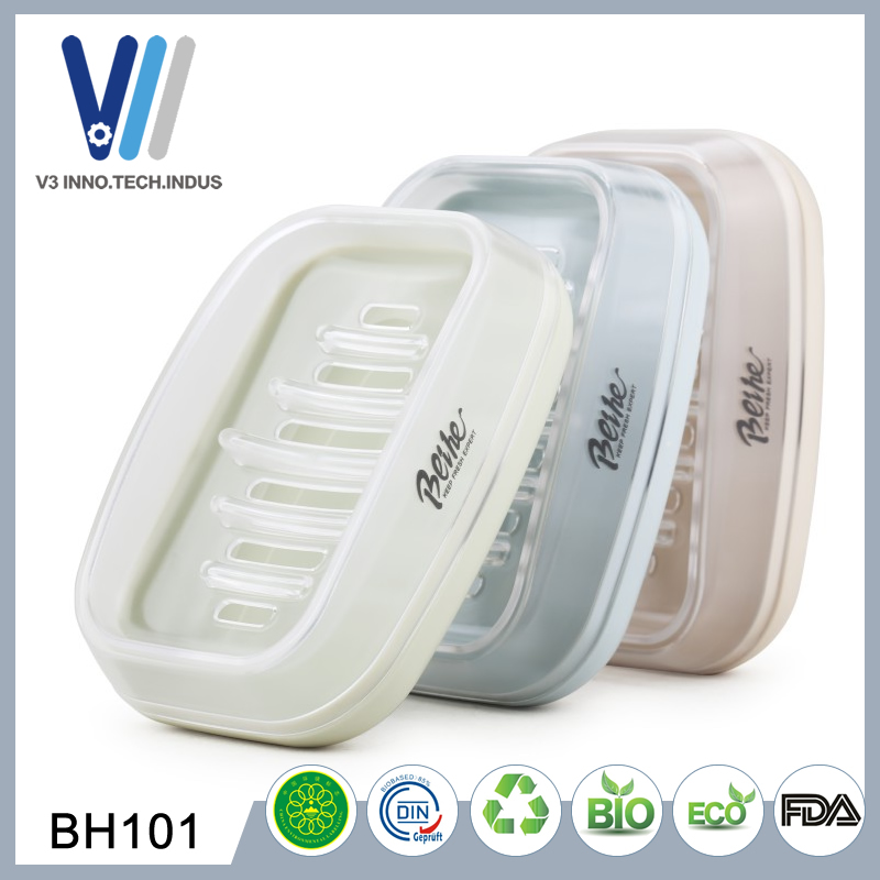 Wholesale High Quantity Bathroom Ware Clear Plastic Soap Dish Container