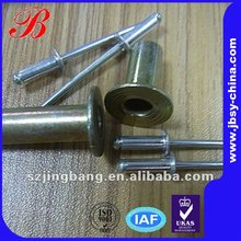stainless steel pop rivets size