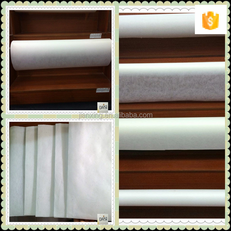 Easy tear away interlining embroidery backing paper trade assrance supplier