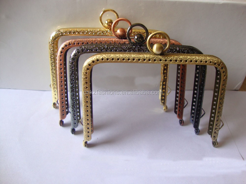 Amazing Range of Quality, Well Designed Purse Frame, Minaudiere Clutch Frame to Complement Your Designs, Pattern & Tutorial Supplies for Handmade Project.