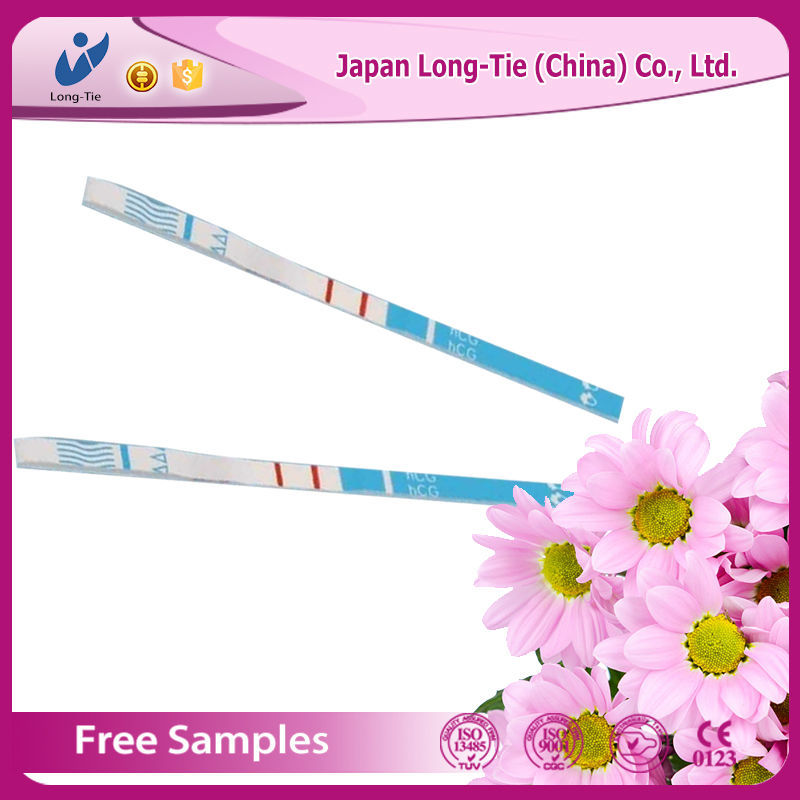 cheap medic one step hcg pregnancy test strip with good quality