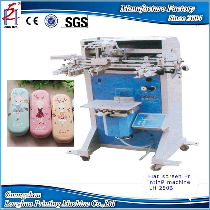 2017 China Manufacturer High Quality New Semi Auto Glasses Stationery CD Disk Flat Screen Printing Machinery Equipment