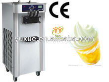Alibaba sales hot items in Unisnow floor stand soft server three flavor professional frozen yogurt ice cream machine