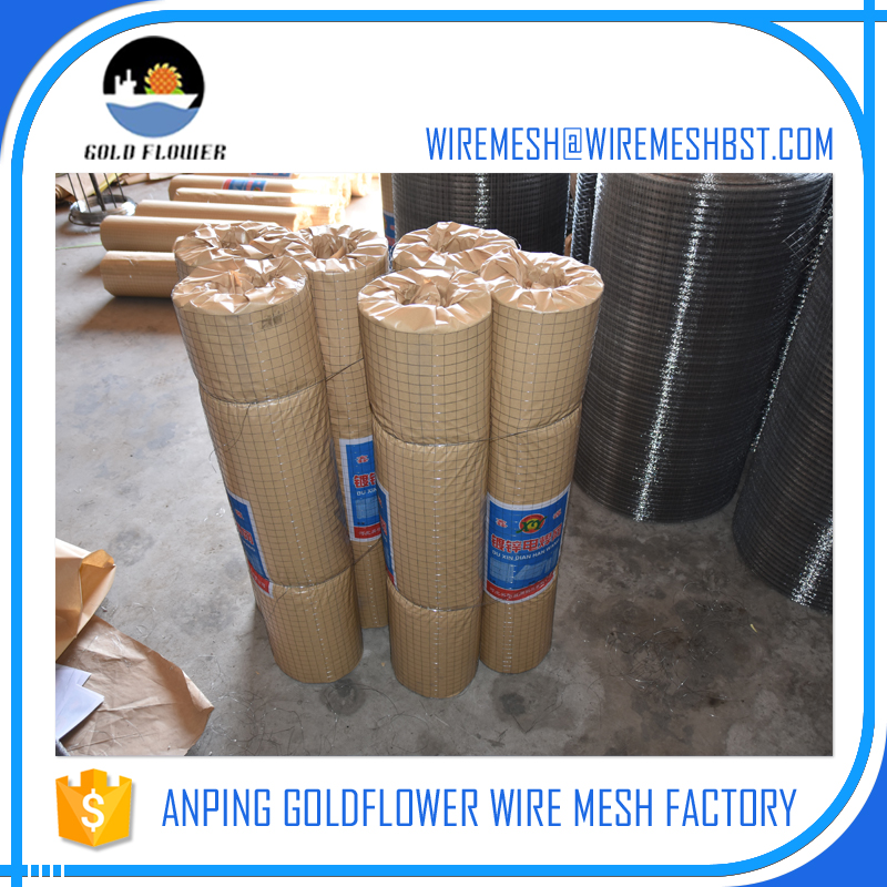 Economical 4 gauge galvanized welded wire mesh