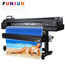 Hot selling Funsunjet FS-1700K 1.7m high speed plastisol printer for sticker and one way vision printing