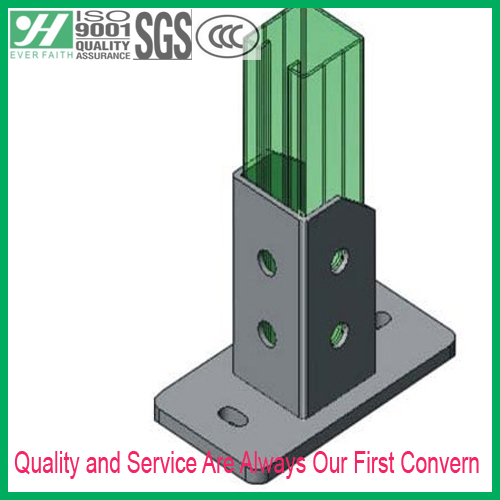 Metal Post C Channel Manufacturer Base Bracket