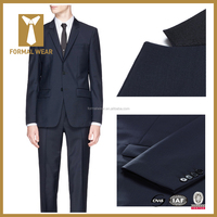 Male Two Buttons Double Vents Custom made Tailored Formal Suits Sets (Jacket+Pants) china men