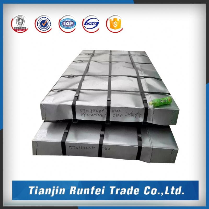 Large processing capacity standard 1.2311 800mm/940mm color coating galvanized corrugated steel roof sheet price