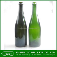 750ml Green Wine Bottle Champagne Glass Bottle Wholesale