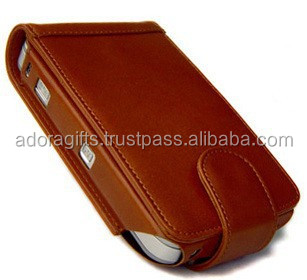 New Arrival Of Brown Cell Phone Case / Leather Cell Phone Case / Mobile Phone Cover Wallet