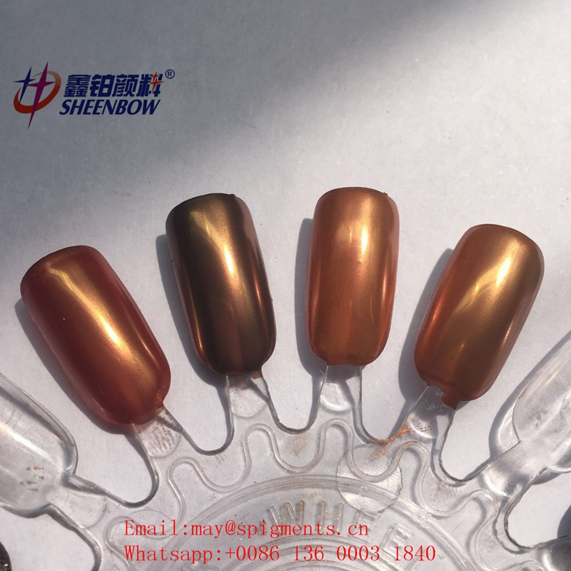 Sheenbow Metallic Pigments, Super Mirror Effect