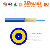 Online shop in home PVC/LSZH cable de fibra optica price