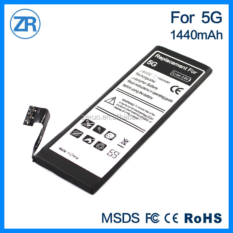 internal battery for iPhone 5G high capacity battery 0 cycle brand new on sale