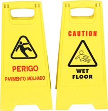 Wet Floor Warning Signs