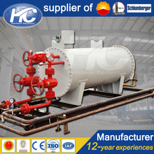 Customized Design Skid Mounted Hot Water Tank Jacket/Steam Heater in the Wellhead Production