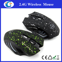 6D 2.4Ghz USB Nano Receiver Wireless Game Mouse