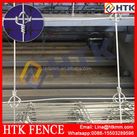 Professional manufaturer factory low price cattle/sheep/deer field fence making machine