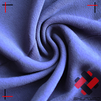 Viscose Rayon crepe Marocain 20%V80%R 30DX30S light weight silk like fabric for fashion apprarel
