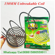 High Quality smokeless China Natural Herbal unbreakable paper Plant fiber mosquito killer paper coil