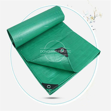 wholesale green color waterproof synthetic tarpaulin