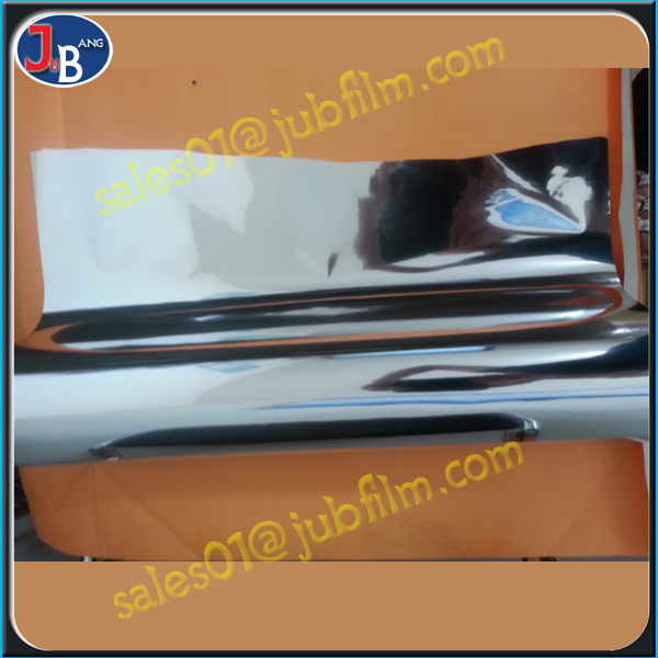 aluminium foil metallized polyester pet film for flexible packaging metallized film