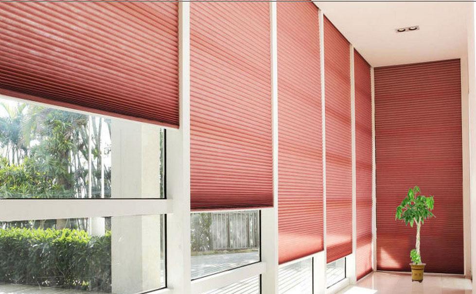 2014 Best Price Wireless Pleated Curtains 25mmfabric