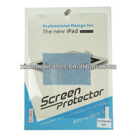 for ipad2/ipad3/ipad4 screen protector