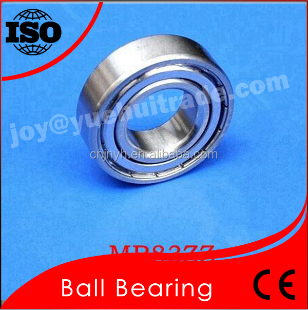 Long Using Life Bearing MR83 MR83zz 3*8*2.5/3mm Small Size Ball Bearing